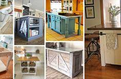 23 Fantastic DIY Kitchen Island Ideas to Transform Your Kitchen