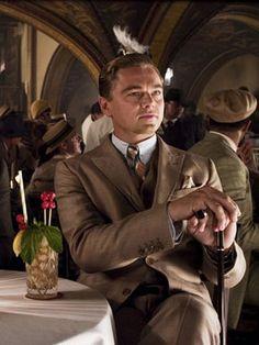 Leonardo as Jay Gatsby...