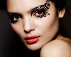 Push PR has been appointed to handle the PR for make-up designs and embellishment company, Face Lace. Founded by make-up artist Phyllis Cohen, the brand offers a range of. Love Makeup, Beauty Makeup, Makeup Looks, Hair Makeup, Makeup Art, Crazy Makeup, Perfect Makeup, Huda Beauty, Makeup Ideas