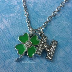 niall horan merchandise | One Direction inspired charm necklace // N by ChrissysCuteDesigns