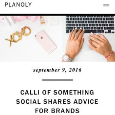 Our founder @callicholo is at it again up on the @planoly blog, this time…