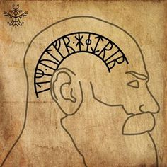 Icelandic runes in the protective inscription. Norse Mythology Tattoo, Norse Tattoo, Wiccan Tattoos, Inca Tattoo, Celtic Tattoos, Viking Tattoos, Indian Tattoos, Armor Tattoo, 3d Tattoos