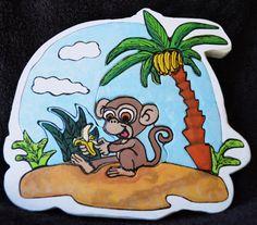 Monkey Island Puzzle on Etsy, $20.00