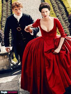 Exclusive: Watch the Outlander Season 2 Trailer and Get a Peek at That Red Dress!