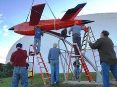 Combat Air Museum gets vintage drone