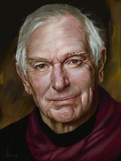 ©️Adam Howard / Adam Howard Art 2021 Peter Weir, Award Winner, Over The Years, Gifts For Friends, United States, Portrait, Illustration, Art, Art Background