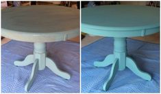Transforming a Table & Chairs with Annie Sloan Chalk Paint | simplysweetsbyhoneybee.com