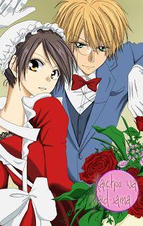 Animes e Mangás: Kaichou Wa Maid-Sama - Imagens de Misaki e Usui!