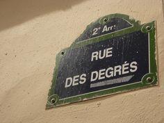 Rue des Degrés, plus petite rue de Paris - DR MelleBonPlan