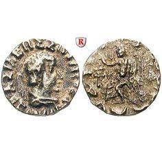 Baktrien und Indien, Königreich Baktrien, Hermaios, Drachme, ss: Hermaios 90-70 v.Chr. Drachme Demetrias. Zeus. Mitch. 419g; sehr… #coins