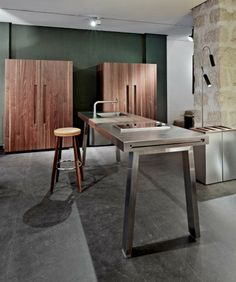 bulthaup showroom london lighting by pslab brass by. Black Bedroom Furniture Sets. Home Design Ideas