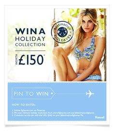 Pin to WIN! For full terms and conditions please visit www.figleaves.com... Happy pinning xx