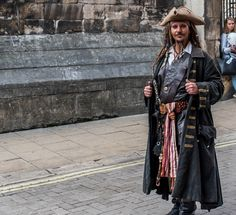 Capt Jack Sparrow, Street entertainer in York | by nickcoburn62
