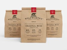 Wolfworthyis a new challenger brand in the dog food category. Read more in: http://lovablepawsandclaws.com/