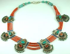 Morocco tribal old necklace