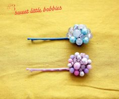 Clip On Earrings: Bobby Pins