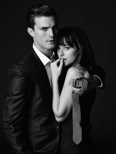 Photoshoot de Christian Grey et Anastasia Steele pour Cinquante Nuances de Grey - Les chroniques d'Evenusia