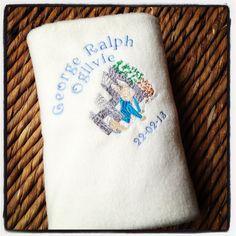 Personalised Beatrix Potter fleece baby cot by Jellibabies1, £16.99