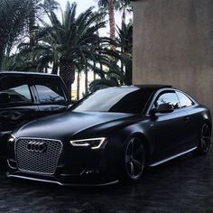 Satin Black Audi S5 What do you think? I think it's perfect! Tag someone below that's like this one Follow @kcitylifestyle ______________________________________