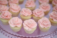 Rose Icing! Very cute!