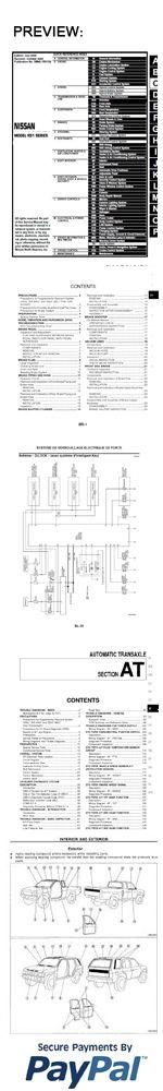 nissan titan 2011 factory workshop service repair manual