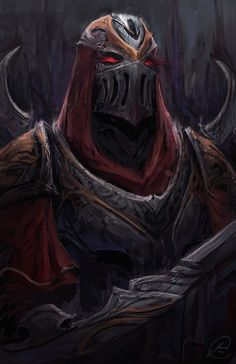 Zed Fan Art, Jason Nguyen on ArtStation at https://www.artstation.com/artwork/zed-fan-art