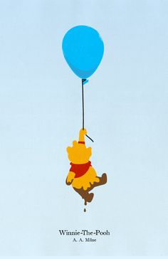 Winnie-The-Pooh looks like he poo'd himself, but I think it's just mud. ;)