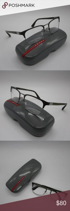3c4b1ff116a2 Prada VPR54T U6C-101 Men s Eyeglasses Made in Italy! Frame is in almost  excellent