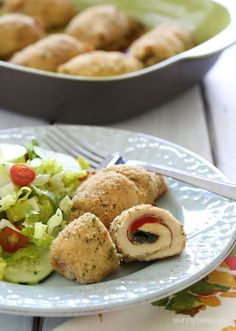 Roasted Red Pepper and Prosciutto Stuffed Chicken Breast | Skinnytaste