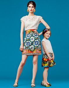 Which is the cutest mother and daughter outfit? - Swide