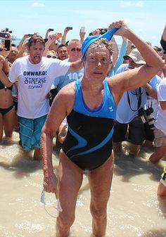 Marathon Swimmer Diana Nyad Responds to Cheating Allegations