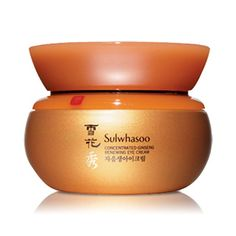 SULWHASOO Concentrated Ginseng Renewing Eye Cream 25ml   An eye cream formulated with ginseng concentrates to refine and help tighten the skin around the eyes  How to Use After applying serum in the morning and evening, dispense an appropriate amount and