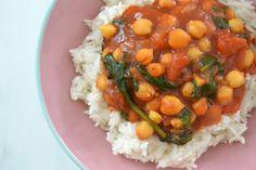Tip na rýchly obed: cícerové kari s jazmínovou ryžou - Fitshaker Garam Masala, Chana Masala, Gluten, Ethnic Recipes, Fitness, Tips, Gymnastics, Advice, Rogue Fitness