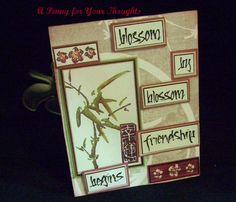Blossom By Blossom Handmade All Occasion Card $2.50