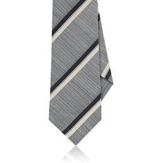 Mens Medallion Wool-Silk Necktie Isaia pkIPl