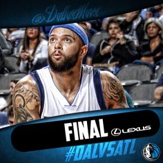Your Lexus Final Score: Mavs fall to the Hawks 98-95. D-Will finishes with 18pts as Zaza hits his 13th double-double of the season with 13pts/17rebs. 12/9/2015