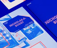 Brand identity and print for handyman Nicholas D. Buggy designed by Duo d uo.