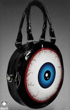 Restyle - Eyeball Handbag - Buy Online Australia Beserk 398fe499cc075