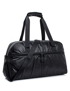 Leaper Water-resistant Gym Bag for Women Men Sports Bag Gym Duffle Bag  Travel 54cf1627cd