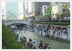 Eröffnung des Cheonggyecheons #Cheonggyecheons #Seoul #Koreawelle