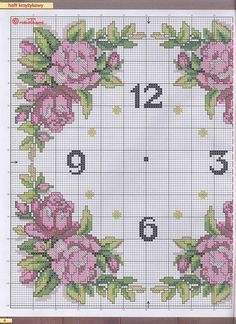 This Pin was discovered by Yas Cross Stitch Flowers, Cross Stitch Patterns, Russian Cross Stitch, Tapete Floral, Cross Stitch Numbers, Hand Embroidery Designs, Cross Stitching, Needlepoint, Needlework