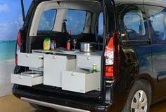 VanEssa Mobilcamping - Camping Ausbau für Deinen Van - T5, T6, Mercedes u.v.m.-VanEssa Küchenmodul - Campingausbau für deinen Berlingo