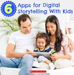 Help your child create digital stories with these apps.