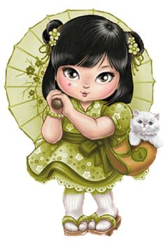 Here you will find beautiful drawings to paint and guarantee hours of fun for adults and children. Cute Images, Cute Pictures, Art Mignon, Anne Geddes, Cute Clipart, Glitter Graphics, Kokeshi Dolls, Digi Stamps, Copics