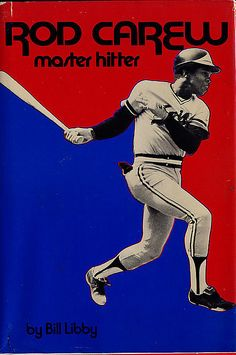 Rod Carew Master Hitter by baseballart, via Flickr