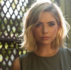 Ashley Benson short hair