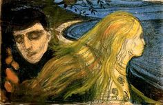 Edvard Munch, Separation II, 1896