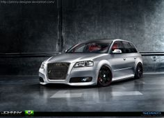 Audi A3 Sportback by Johnny-Designer.deviantart.com on @deviantART