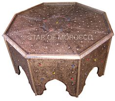 Fez Brass Table