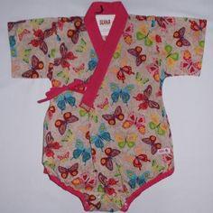 Baby kimono baby clothes by SUIKA quimono infantil da SUIKA